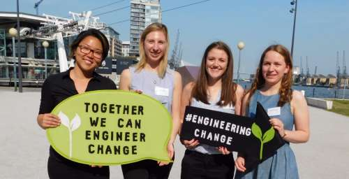 Strathclyde winning team of Engineers without Borders challenge