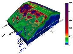 3D Electrical Resistivity Tomography (Thorngumbald embankment near Hull-UK) – Desiccated zones.