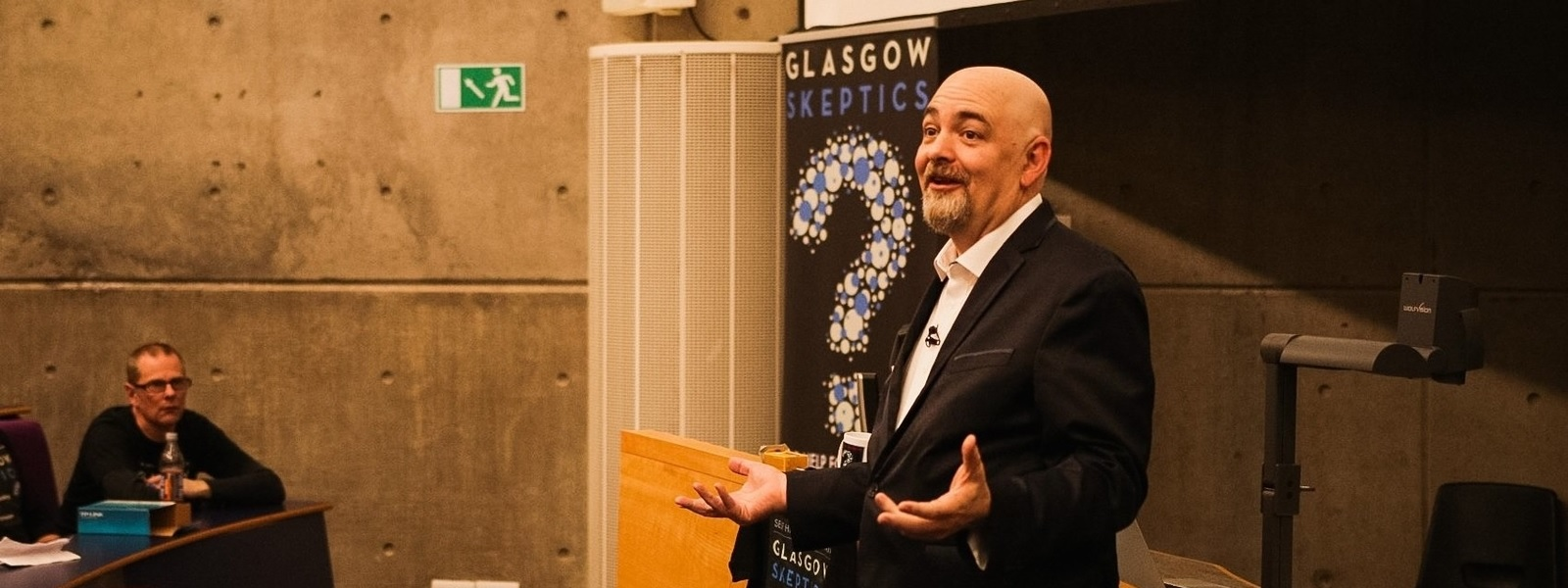 Matt Dillahunty hosts Strathclyde Psychology Public Engagement Talk