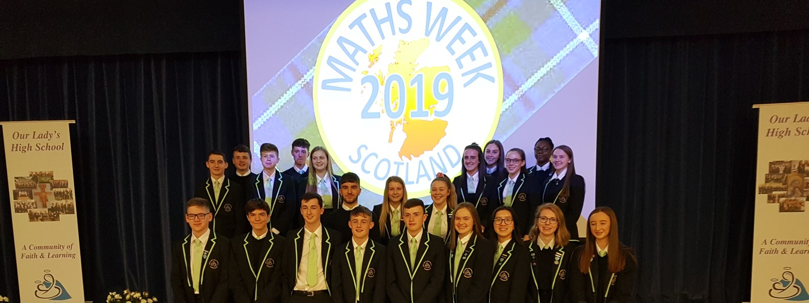 Our Lady's High School, Maths Week Scotland 2019