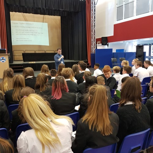 St Andrew's and St Bride's High School Maths Week 2019