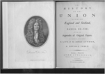 The history of the act of union between England and Scotland by Daniel Defoe, 1786