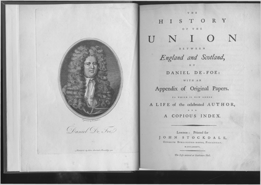 History of the Union by Daniel Defoe