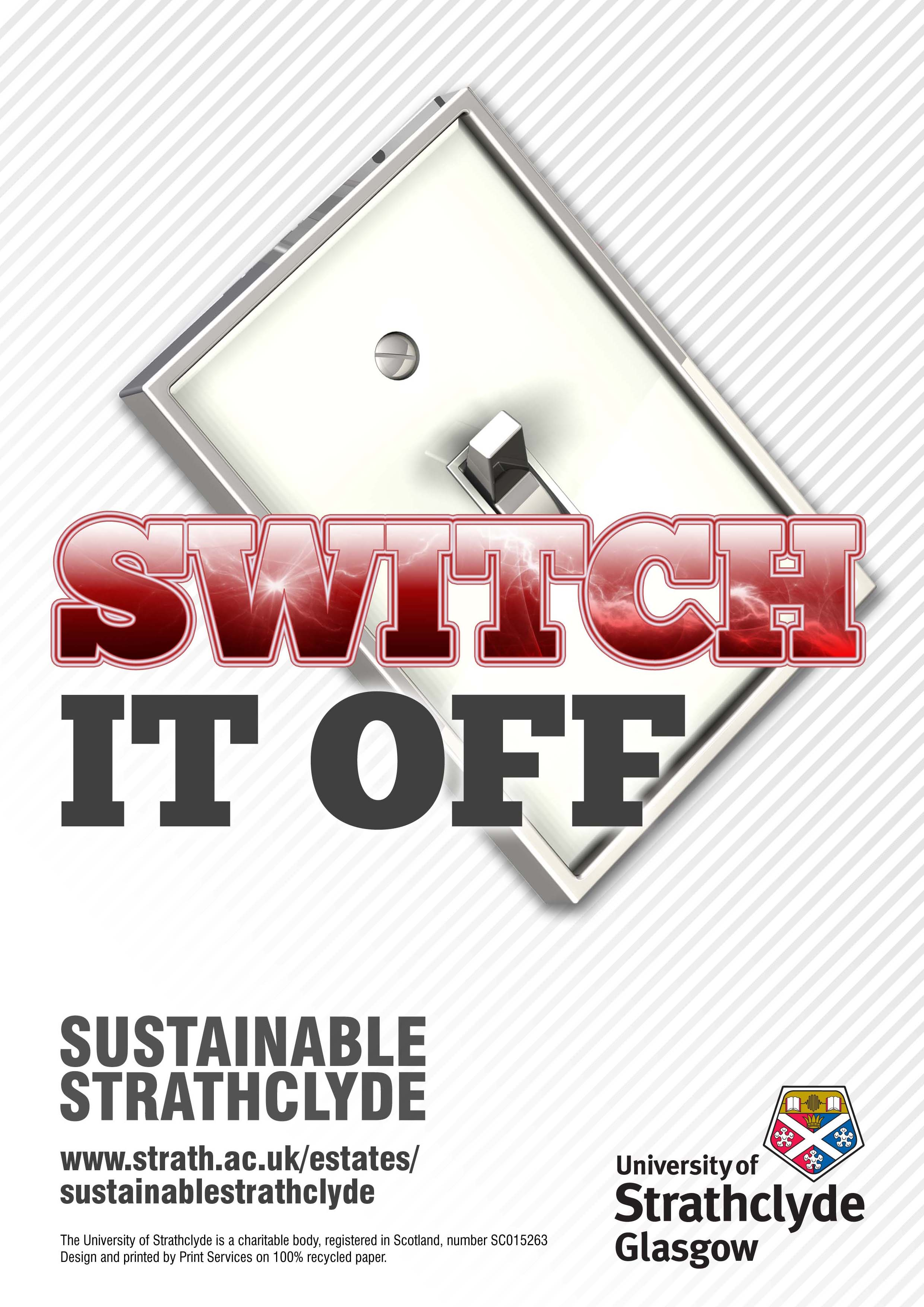 Switch Off Campaign University Of Strathclyde