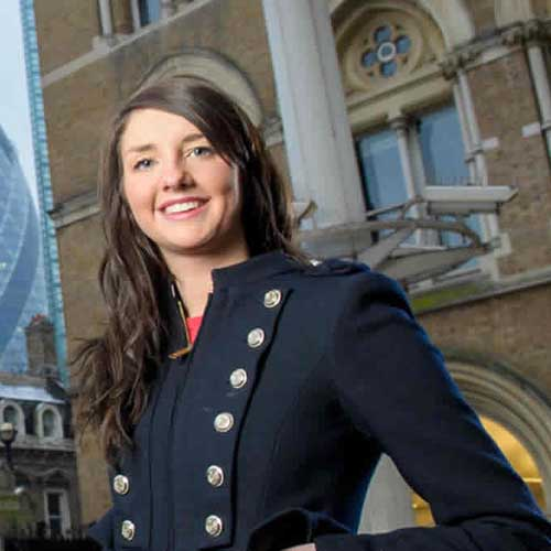 Strathclyde Business School graduate working in London