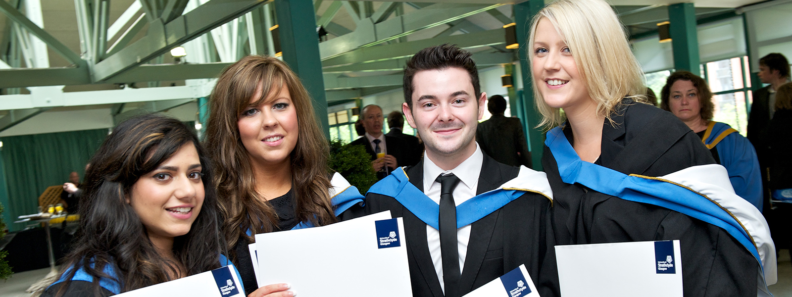 Graduates from Strathclyde's Faculty of Humanities & Social Sciences