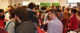 Photograph of students at Careers Fair
