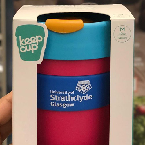 University of Strathclyde reusable Keepcup